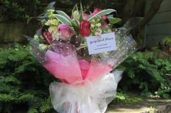 Luxury rose gift bouquet