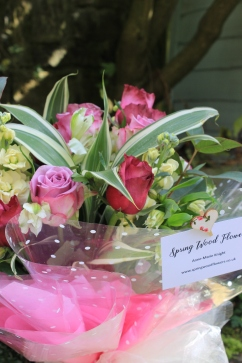 Detail of luxury gift bouquet